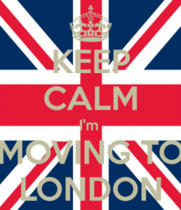 Keep Calm I'm Moving to London